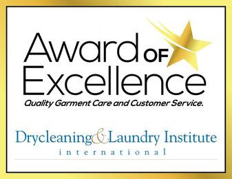 Award of Excellence Dry Cleaner